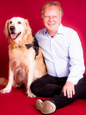 BVBH-Chef Markus Beyer und sein Hund Chester