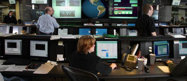Risikovorsorge in Sicherheitszentrale eines IT-Herstellers: Ohne Vorausschau ist jedes Projekt gefährdet.
