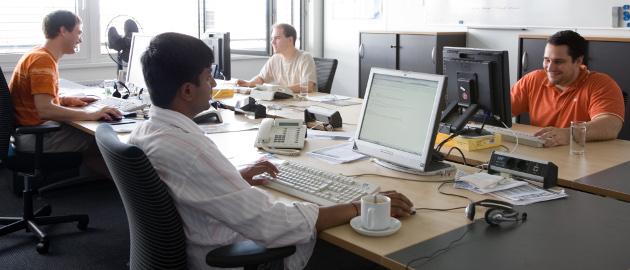 Fachkräfte sind in der IT-Branche schwer gefragt.