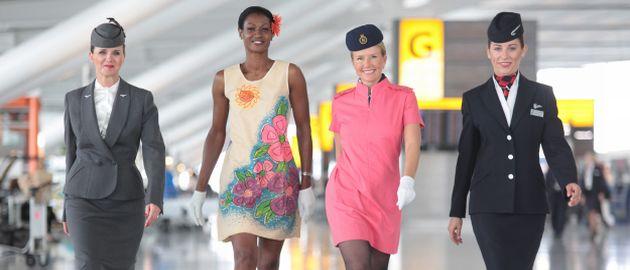 British Airways Flugbegleiterinnen