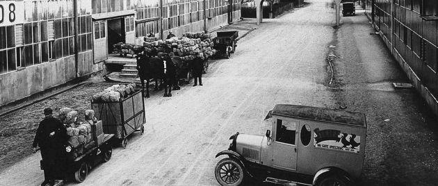 Das Firmelgelände der Fimra Steiff hat über die Jahrzehnte gewandelt, genauso wie das Unternehmen sich verändert hat.
