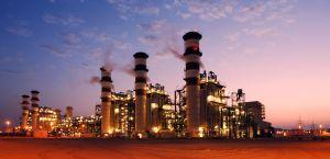 Energie-Ausstoß in der Industrie