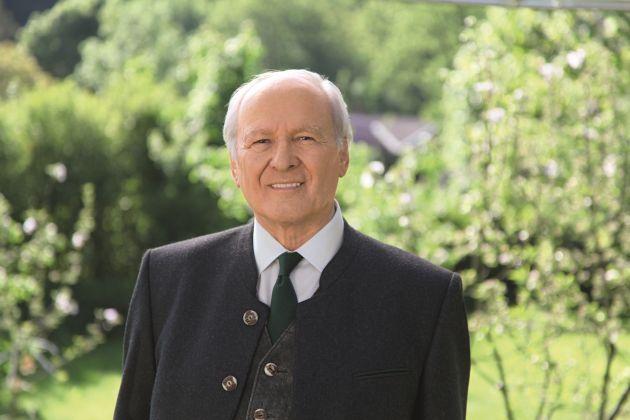 Familienunternehmer Claus Hipp