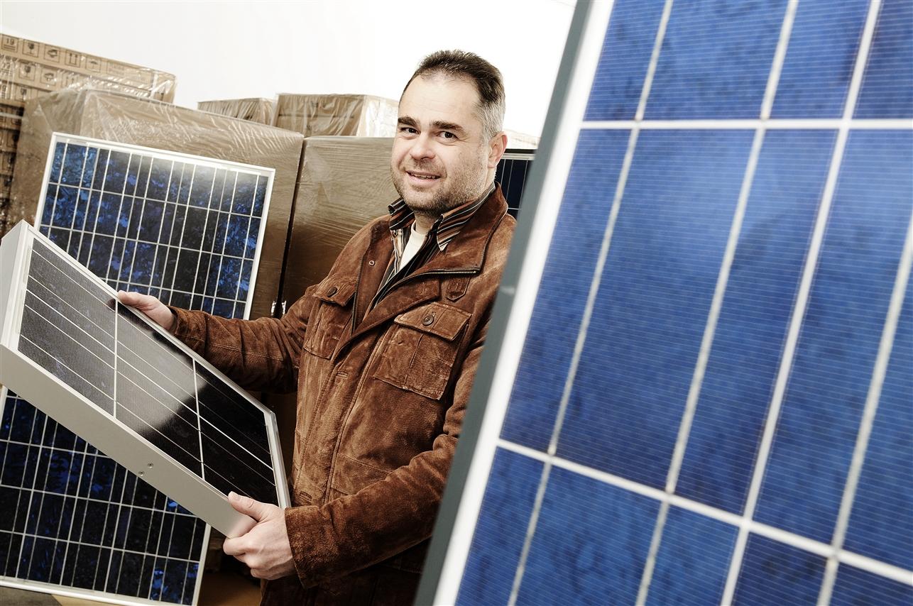 Michael Aigner, Geschäftsführer Aton-Solar GmbH, Laichingen