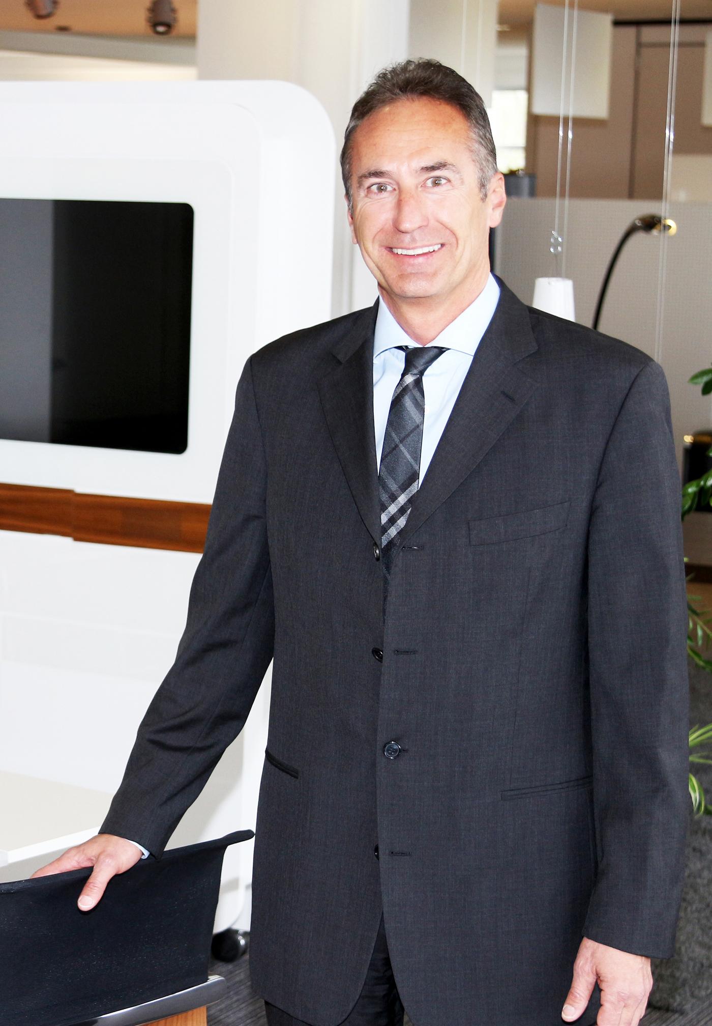 Sebastian Groesslhuber, Geschäftsführer, Kinnarps GmbH, Worms