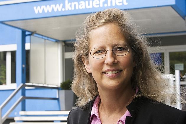 Alexandra Knauer, Geschäftsführerin Wissenschaftliche Gerätebau Dr. Ing. Knauer GmbH