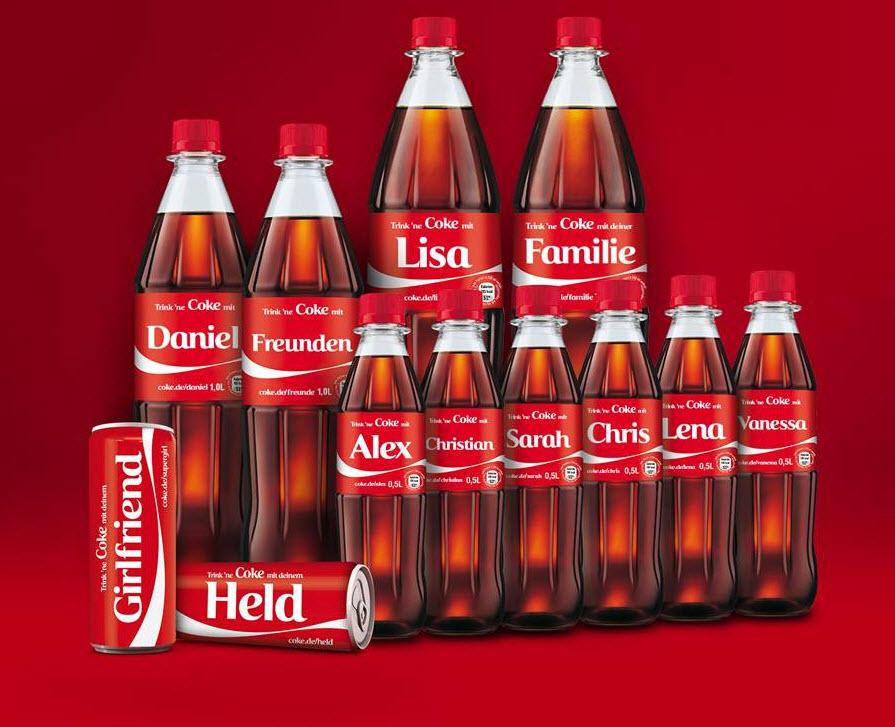 coca cola werbemittel