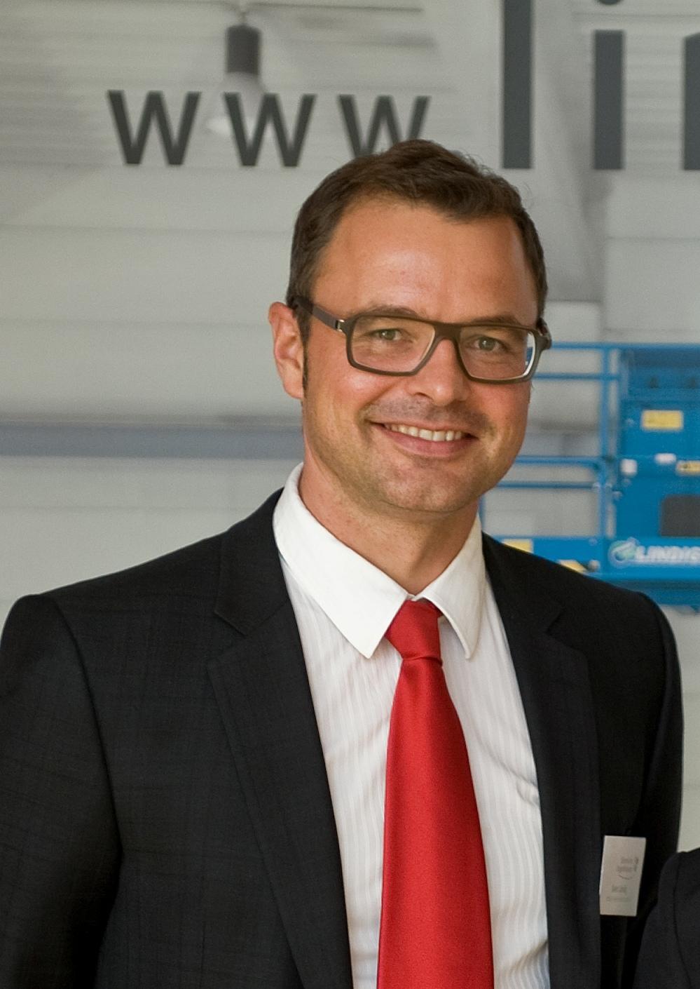 Sven Lindig, Geschäftsführer, Fördertechnik Lindig GmbH, Krauthausen/Eisenach