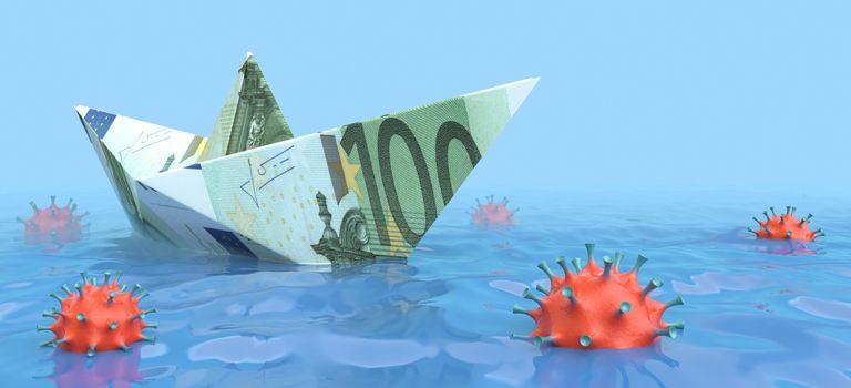 Mit Eigenkapital sich über Wasser halten: In der Corona-Krise kann ein zusätzlicher Investor dem Unternehmen helfen, die Liquidität sicherzustellen.