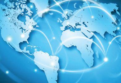 Kontinentalhopping: Dank Onlinetools ist die nächste Geschäftsreisenbuchung nur einen Smartphoneklick entfernt.