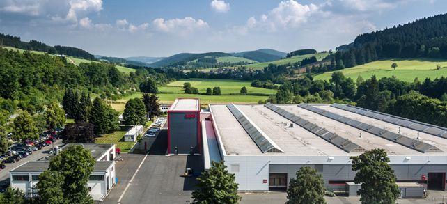 Einer von 166: Das Verbindungstechnikunternehmen Ejot in Bad Berleburg gehört zu den vielen Weltmarktführern in Südwestfalen.