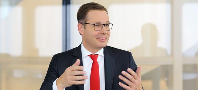 """""""Nach der Finanzkrise 2008 hat sich der Mittelstand über alle Unternehmensbereiche hinweg professionalisiert"""": HVB-Vorstand Markus Beumer sieht die Unternehmen gut aufgestellt."""