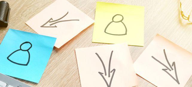 Verlagerung an Externe: Beim Outsourcing übernehmen Lieferanten, Freelancer oder Dienstleister Aufträge für Unternehmen.