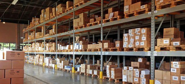 Nicht überall ist das Lager so voll: Einige Unternehmen haben durch das Corona-Virus Probleme mit ihrer Lieferkette.