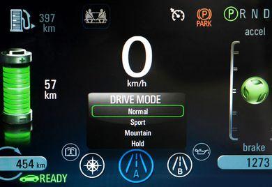 Das Cockpit ist die Kommandozentrale: Alles im Griff beim vernetzten Fahren.