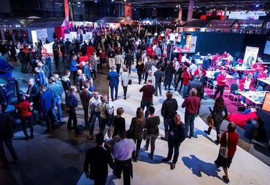 Volles Haus: Mehrere Tausend Kunden und Partner kamen in der vergangenen Woche zur Exact Live 2016 des niederländischen Unternehmens Exact.