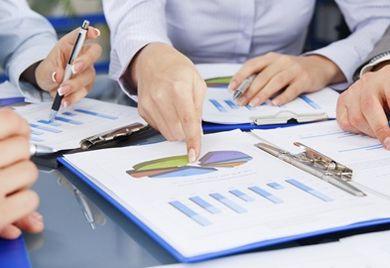 Planung findet vor allem in der Finanzabteilung statt.