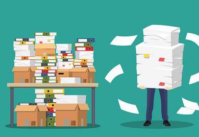 """""""Das ist doch irre"""": Viele Mittelständler beschweren sich über immer mehr Bürokratie."""