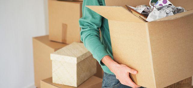 Schwere Kisten: Nicht jeder würde für einen neuen Job umziehen.