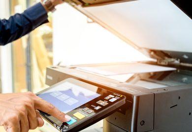 Externe Unterstützung: Auch für die Wartung und das Management von Druckern gibt es Dienstleister.