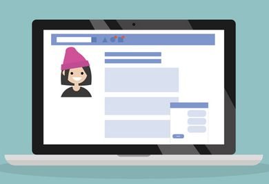 Achtung, privat: Während die Recherche bei Karrierenetzwerken wie Xing und Linkedin arbeitsrechtlich unproblematisch ist, sieht das auf Facebook schon anders aus.