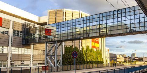 Marktführer: Das Frankfurter Messegelände gehört zu den größten seiner Art in Deutschland und Europa.