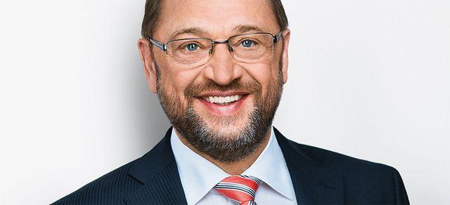 Der Herausforderer: Der SPD-Vorsitzende Martin Schulz möchte Angela Merkel als Bundeskanzler nachfolgen.