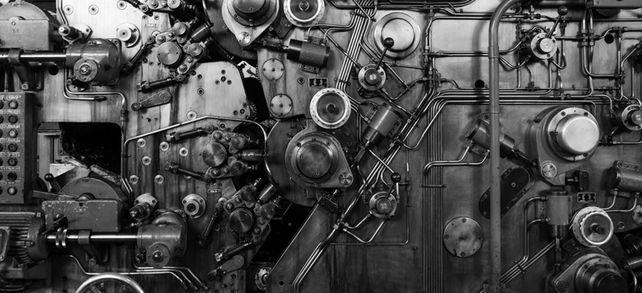 Wie bei einer gut geölten alten Maschine: Im Mittelstand greifen alle Zahnräder zuverlässig ineinander.