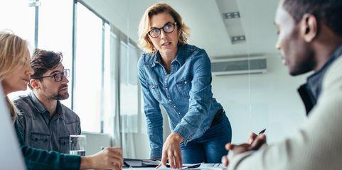 Ein immer noch seltener Anblick: Nur in jedem sechsten mittelständischen Unternehmen hat eine Frau das Sagen.