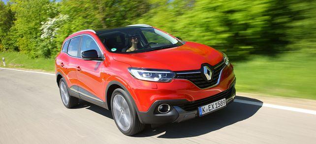 Mit seiner klugen Konzeption ist der Renault Kadjar ein wahres Raumwunder, das sowohl sperriges Werkzeug als auch fünf Insassen locker aufnehmen kann.
