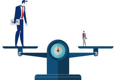 Ausgewogene Geschäftsbeziehung? Konzernkunden und mittelständische Zulieferer sollten sich auf Augenhöhe begegnen. Denn beide sind aufeinander angewiesen.