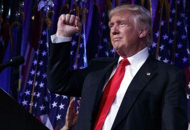 Donald Trump: Mittelstandsverbände sehen das Wahlergebnis kritisch.