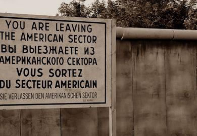 Man sieht die Grenze noch: Bei den Durchschnittsgehältern ist die Wiedervereinigung noch längst nicht abgeschlossen.