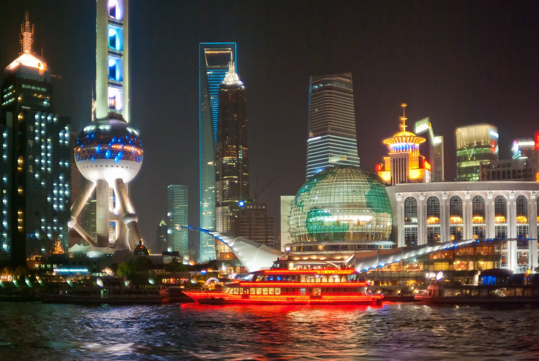 Freihandelszone umfasst den Stadtteil Pudong