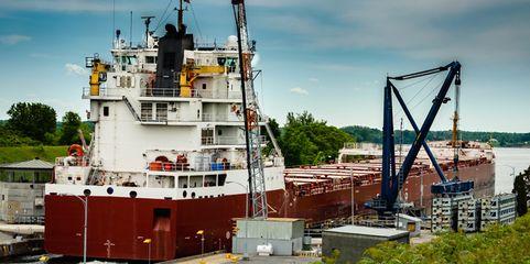 Ein Schiff wird kommen: Nicht nur am St.-Lorenz-Strom freut man sich auf ein Mehr an Warenverkehr dank Ceta.