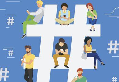 Auftritt in sozialen Medien: Unternehmen sollten eine emotionale Botschaft transportieren.