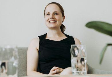Unternehmerin Jeannine Budelmann: Sie will die Corona-Krise nutzen, um Vorurteile über die jeweils andere Generation über den Haufen zu werfen.