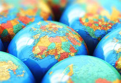 Globaler Mittelstand: Deutsche Unternehmen treiben mit der ganzen Welt Geschäfte.