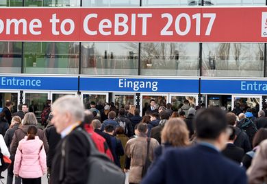 Ein letztes Mal im März: Ab 2018 soll die Cebit im Juni stattfinden.