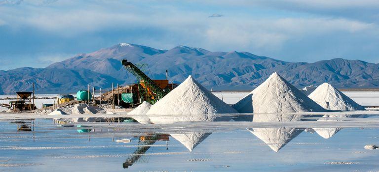 Lithium-Abbau im argentinischen Jujuy: In Argentinien und Chile lagern zwei Drittel der weltweiten Reserven.
