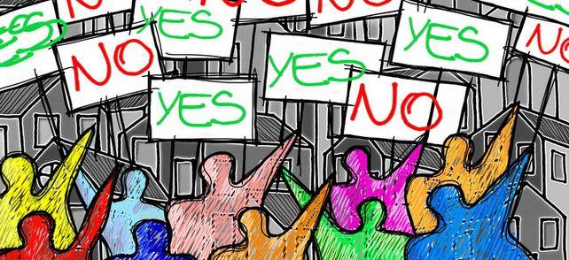Streiken oder nicht mitstreiken – das ist hier die Frage: Um Mitarbeiter von der Teilnahme an einem Streik abzuhalten, darf der Arbeitgeber Geld fließen lassen.