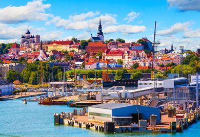 Mehr als ein schönes Panorama: Im Baltikum – wie hier in der estnischen Hauptstadt Tallinn – boomt die Industrie.