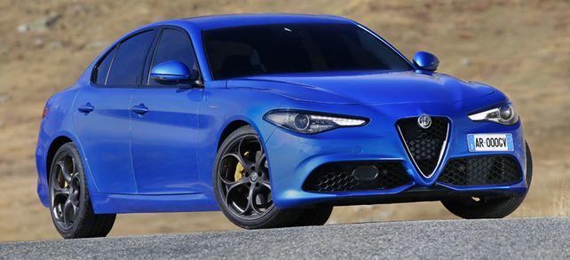 Che bella macchina: Der Alfa Romeo Giulia erntet Beifall bei denjenigen, die sich vom deutschen Dienstwageneinerlei abheben wollen.
