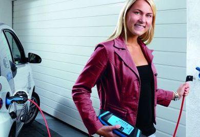 Elektroautos sind in der Werbung immer auf Hochglanz poliert.