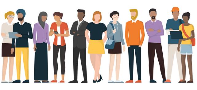 Sichtbar vielfältig: Unternehmen, die die Diversity ernst nehmen, stellen häufig Menschen aus unterschiedlichen Herkunftsländern ein. Aber die Herkunft ist nicht das einzige Merkmal, auf das sie achten sollten.