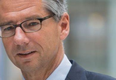 """Ulich Grillo, BDI-Chef: """"Dürftiges Management der Energiewende""""."""