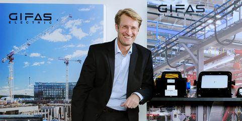 """Gifas-Geschäftsführer Dirk Jürgeleit: """"In der Krise haben sich dann alle auf die wirklich wichtigen Themen besonnen."""""""