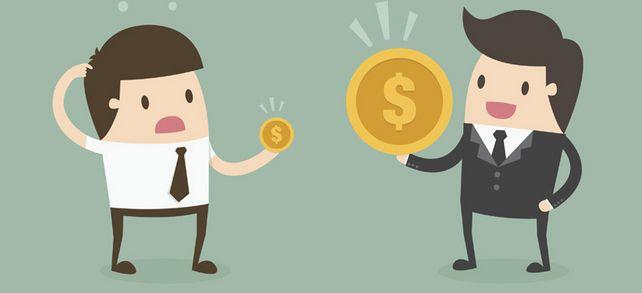 Geschäftsführer verdienen zwar auch im Mittelstand mehr als ihre Mitarbeiter im eigenen Unternehmen – aber beileibe nicht so viel wie in größeren Firmen.