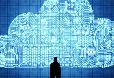 Im Aufwärtstrend: Immer mehr Unternehmen nutzen Cloud-Dienste.