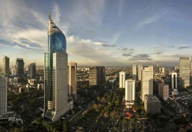 Jakarta: Immer mehr ausländische Investoren setzen auf die indonesische Wirtschaft.